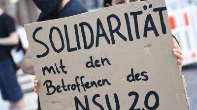 """Staatsanwaltschaft bestätigt 14 weitere """"NSU 2.0""""-Drohschreiben"""