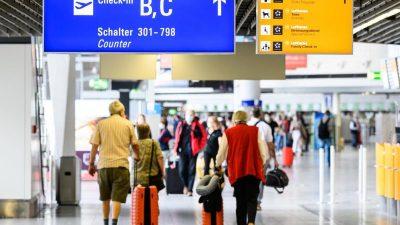 Das Handy als Fernbedienung im Flughafen