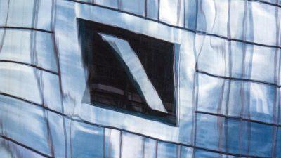 Deutsche Bank zahlt 13,5 Millionen Euro im Zusammenhang mit Geldwäschevorwurf