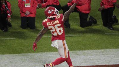 Nun auch Damien Williams: NFL-Spieler verzichten auf Saison