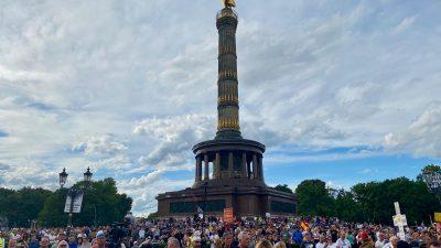 Berlin erreicht neuen Demonstrations-Rekord 2020