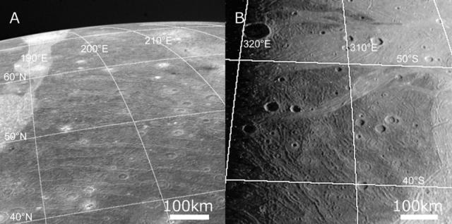 Größter Krater im Sonnensystem