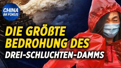 NTD: Drei-Schluchten-Damm steht vor größter Gefahr | Riesige Schlammlawine verschüttet drei Stockwerke