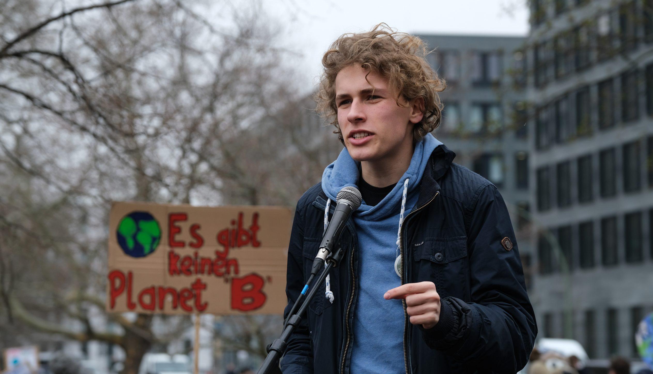 """Klimaaktivist Blasel: """"Die Grünen müssen ihr Programm auf Pariser Klimaabkommen anpassen"""""""