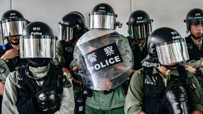 Großbritannien stoppt militärische Ausbildung der Hongkonger Polizei