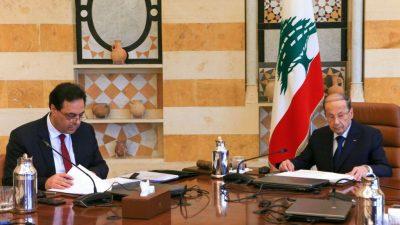 Explosionen in Beirut: Libanons Präsident zieht auch Anschlag als Ursache in Betracht