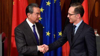 Maas empfängt Chinas Außenminister Wang in Berlin – Drohung des chinesischen Kollegen sorgt für Empörung
