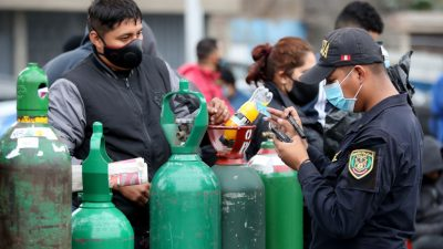 Peru: 22.000 Polizisten und Soldaten setzen Sonntags-Ausgangssperre in Lima durch