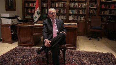 Trump empfängt neuen irakischen Ministerpräsidenten in Washington