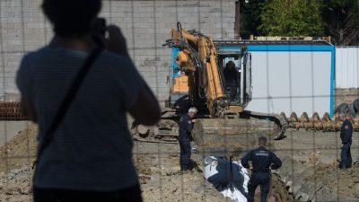Junger Polizist nach Bombenfund in München durch Phosphor schwer verletzt