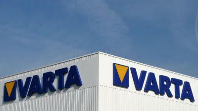 Batteriekonzern Varta will auch Batteriezellen für Elektroautos bauen