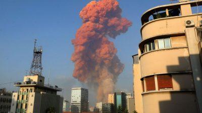 Beirut: 16 Hafen-Mitarbeiter wegen Explosionen festgenommen