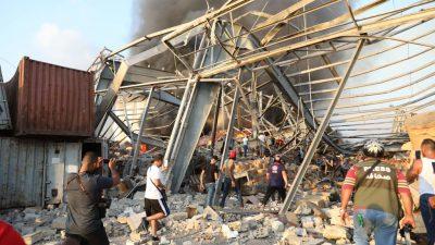 """""""Beirut braucht dringend Hilfe"""": Mitarbeiter der Naumann-Stiftung bekam Riesendruckwelle zu spüren"""