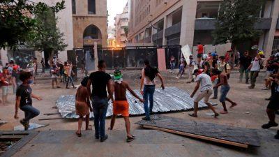 """WHO: Mehr als die Hälfte von Beiruts Krankenhäusern """"nicht funktionsfähig"""""""