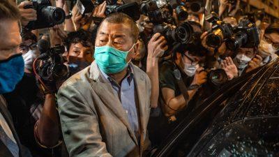 Hongkonger Medienunternehmer Jimmy Lai gegen Kaution wieder frei