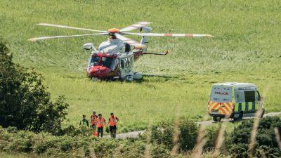 Schweres Zugunglück in Schottland – mindestens zwei Todesopfer und mehrere Verletzte