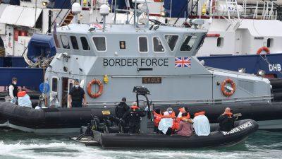 Britische Armee verstärkt wegen steigender illegaler Migration Präsenz im Ärmelkanal