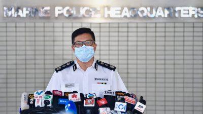 Chinesische Polizei verhaftet zwölf Hongkonger auf der Flucht nach Taiwan