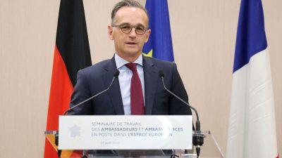 Maas: Russland muss mehr zur Aufklärung des Falls Nawalny tun