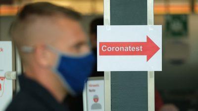 Urlaubsrückkehrer erhält zwei unterschiedliche Ergebnisse nach Corona-Test