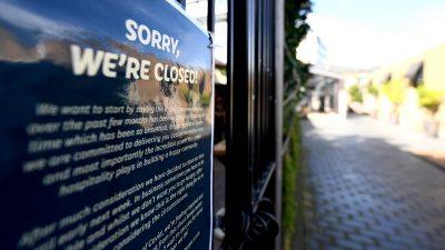 Corona-Ausgangssperre in Auckland erneut verlängert