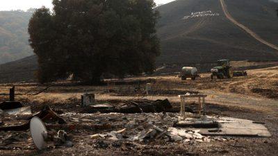 Fortschritte beim Kampf gegen die Brände in Kalifornien