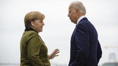 """Bereit zu zweitem Lockdown: Merkel und Biden verfolgen """"rigideste Corona-Politik weltweit"""""""