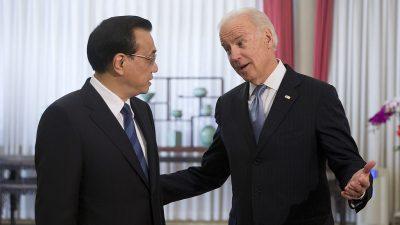 """US-Wahl: China würde Biden wählen – """"geschmeidiger"""" zu handhaben als Trump"""