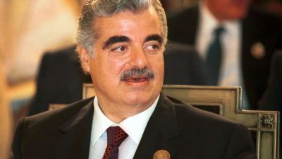 Autobombe tötete 2005 Libanons Ex-Premier Rafik Hariri