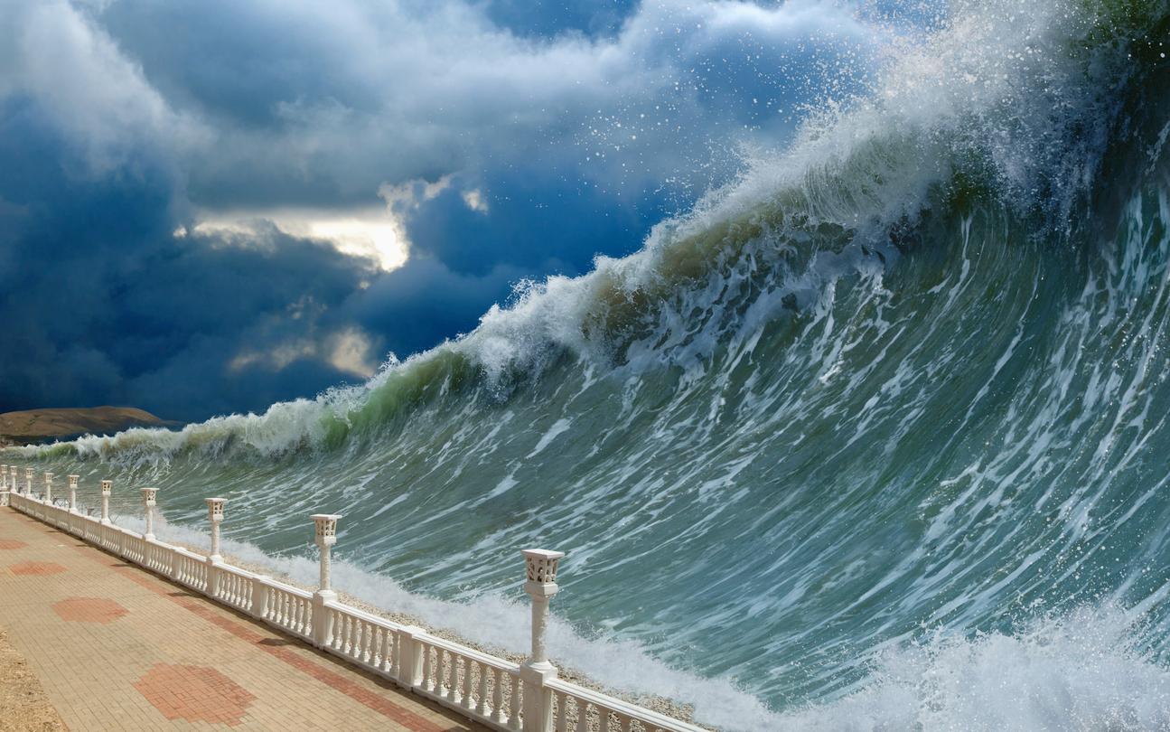Die friedliche Monsterwelle – Plötzliche politische Umwälzungen entstehen durch die Überlagerung lange unterdrückter Wellen