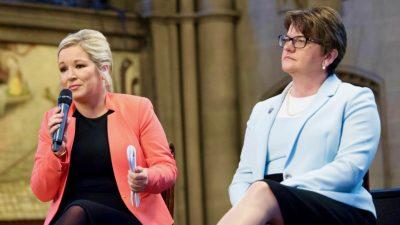 """Nordirland: Regierungschefinnen dementieren Bericht über positive Aussagen zu Hongkongs """"Sicherheitsgesetz"""""""