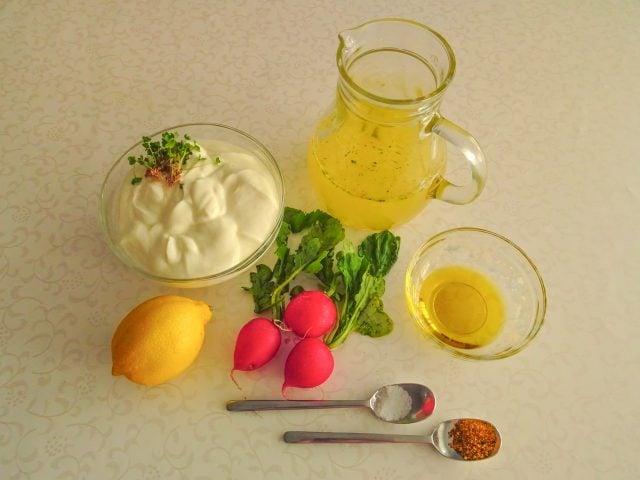 Radieschen-Suppe Zutaten