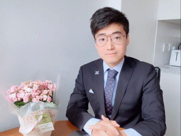 Simon Cheng am 31. März 2020. Foto: Simon Cheng