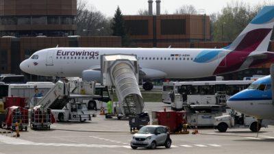 Lufthansa und Eurowings fliegen trotz Reisewarnung weiterhin nach Spanien