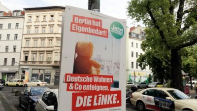 Berliner Linke fordert staatliche Kaufhäuser und massiven Ausbau des Sozialstaats