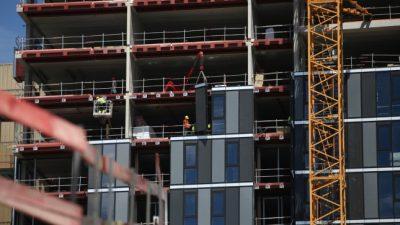 Bauboom in der Coronakrise – Umsatz im Juni um elf Prozent gestiegen