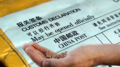 Mysteriöse Samen aus China: Online-Betrug oder Bio-Terrorismus?