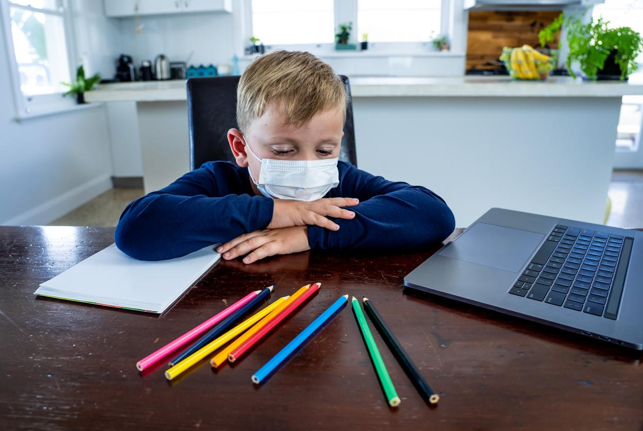 Studie: Distanzunterricht ungünstig für Grundschüler