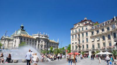 München: Anhaltender Streit zwischen Personengruppen – Polizei räumt Karlsplatz