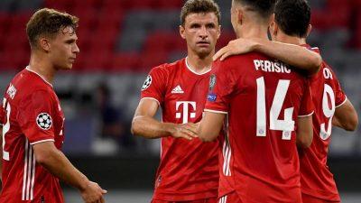 Doublegewinner FC Bayern siegt weiter: Mit 4:1 nach Lissabon
