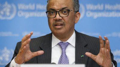 WHO-Chef ruft zu Dialog mit Kritikern der Corona-Politik auf