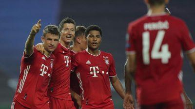 Triple ganz nah: Gnabry führt Bayern ins Finale gegen PSG