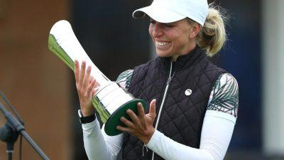 Von Majorsieger zu Majorsiegerin: Kaymer gratuliert Popov