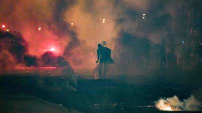 Zusammenstöße nach Champions-League-Endspiel in Paris