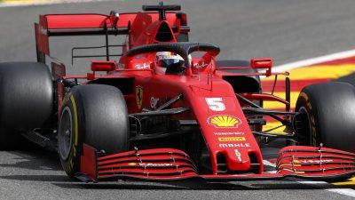 Vettel Letzter vor Belgien-Qualifikation – Hamilton top