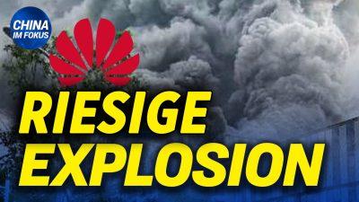 NTD: Großes Feuer in Huaweis China-Labor | Chinesische Behörden verändern Bibel-Geschichte