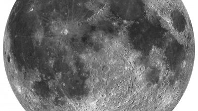 Seit Milliarden Jahren: Lässt Sauerstoff von der Erde den Mond rosten?