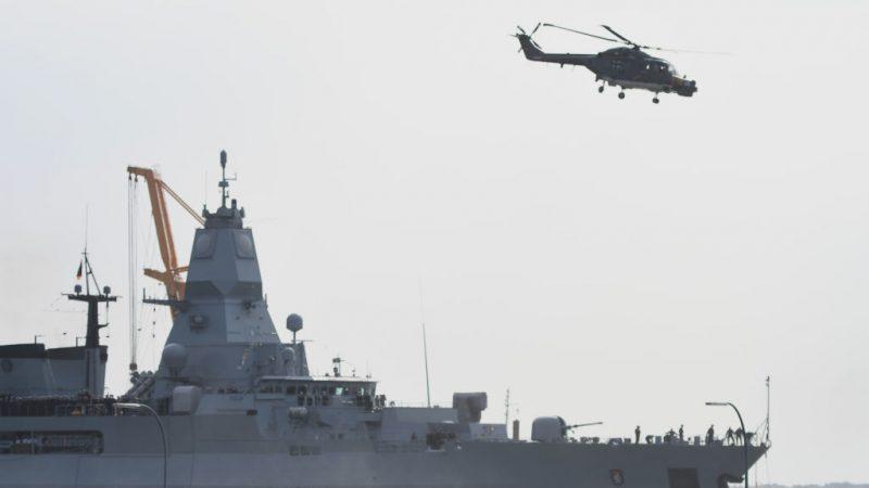 Deutsches Militärschiff stoppt emiratischen Tanker auf Weg nach Libyen