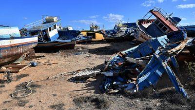 Tröpfchen-Migration auf Lampedusa – Boote landen im Stundentakt