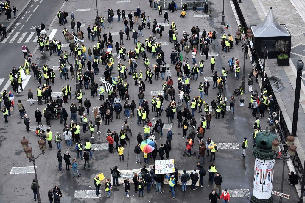"""""""Gelbwesten"""" gehen in Frankreich wieder auf die Straße – Vereinzelte Ausschreitungen und 200 Festnahmen"""